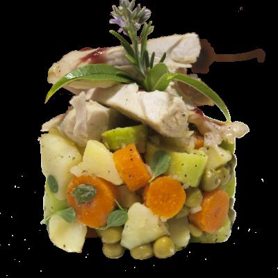 Canva - Rabbit, Tuna, Vegetables, Carrot, Peas, Food, Carrots